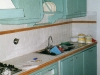 Cucina su misura in legno di castagno