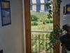 Porta-finestra in legno massello