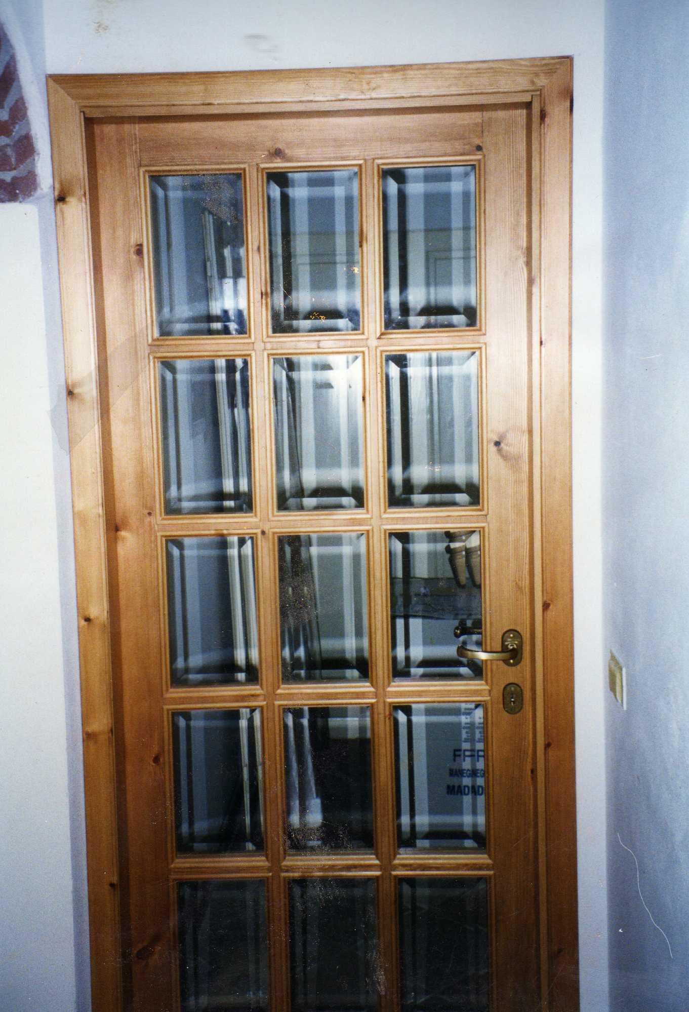 Porte in legno portoni fatti a mano a firenze - Porte all inglese ...