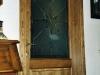 Porta in legno massello e vetro